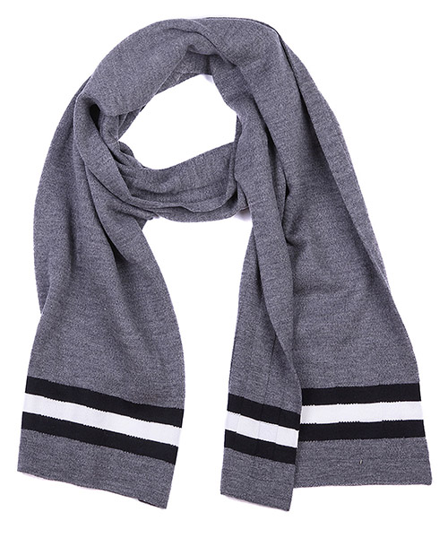 Men's wool scarf knits secondary image
