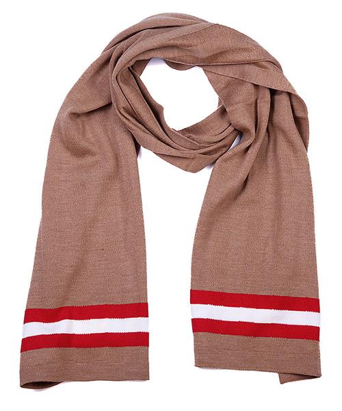 écharpe homme en laine camel knits secondary image