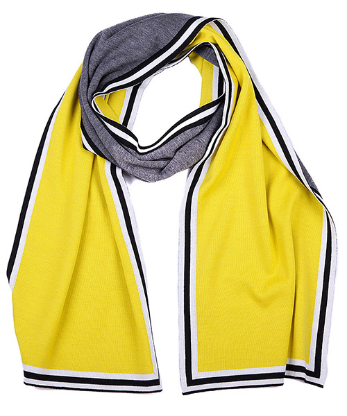 Men's wool scarf multisunflower secondary image