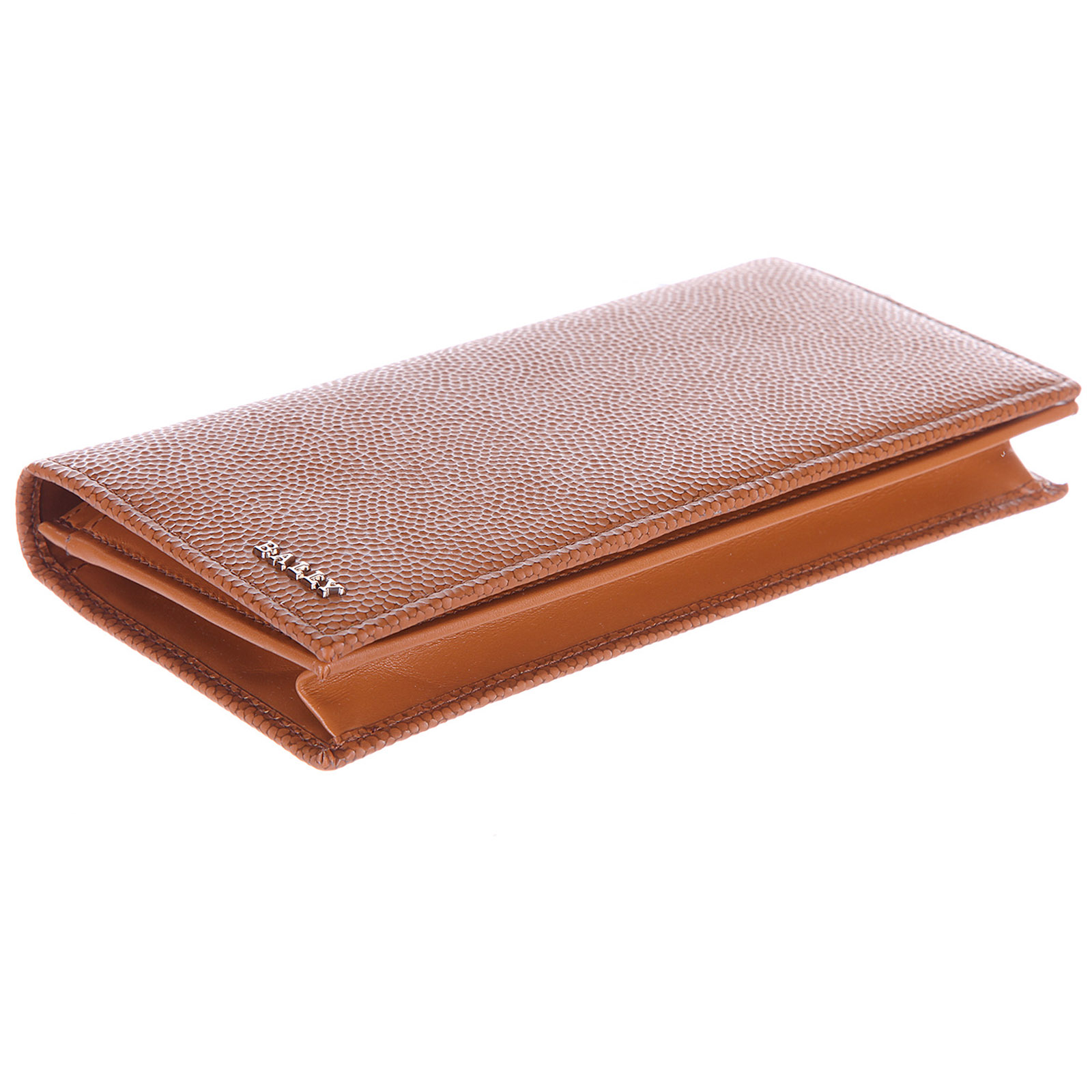 Men's wallet leather coin case holder purse card bifold neall calf embossed