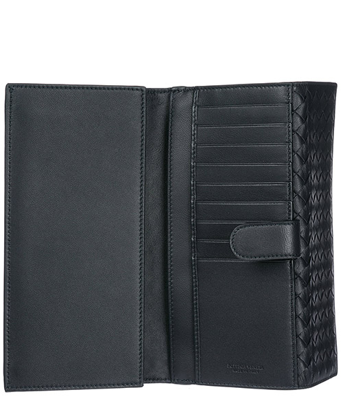 Women's genuine leather wallet credit card trifold secondary image