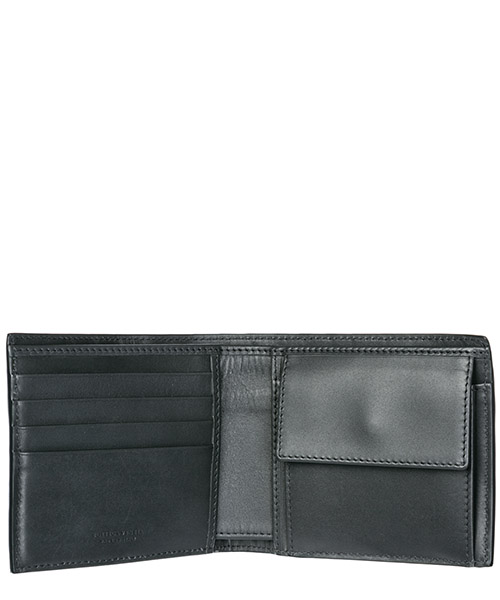 Men's wallet genuine leather coin case holder purse card bifold secondary image