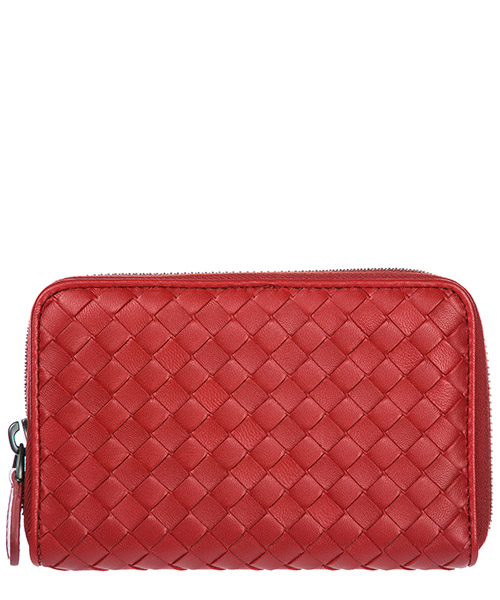 Wallet Bottega Veneta 464850V001N rosso