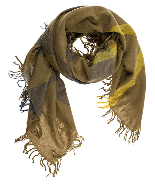 Men's wool scarf mu colour secondary image