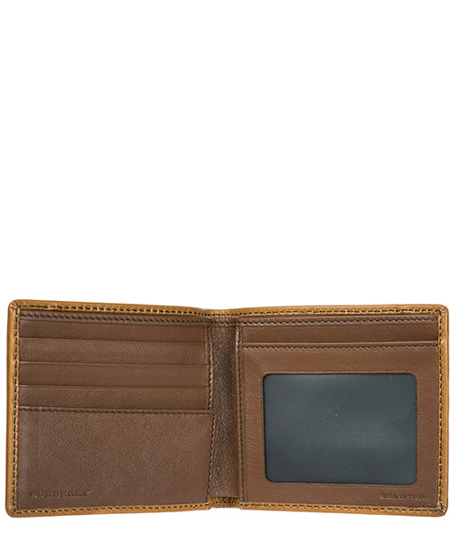 Men's genuine leather wallet credit card bifold  ms idbillf secondary image