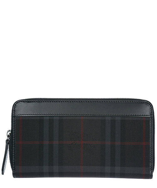 Billetera Burberry 39455641 charcoal - black