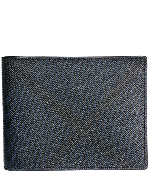 Wallet Burberry Hipfold 39961831 navy / black