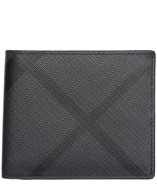 Portafoglio Burberry Idbillf 40564171 charcoal - black