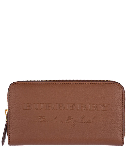 Billetera Burberry 40596681 chestnut brown