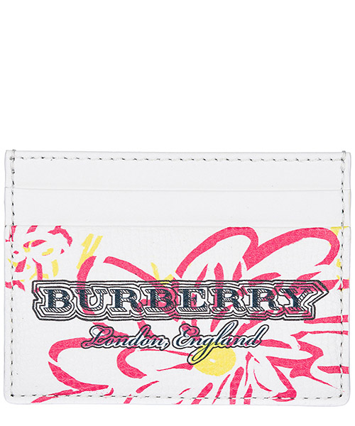 Credit card holder Burberry Sandon 40661451 bianco