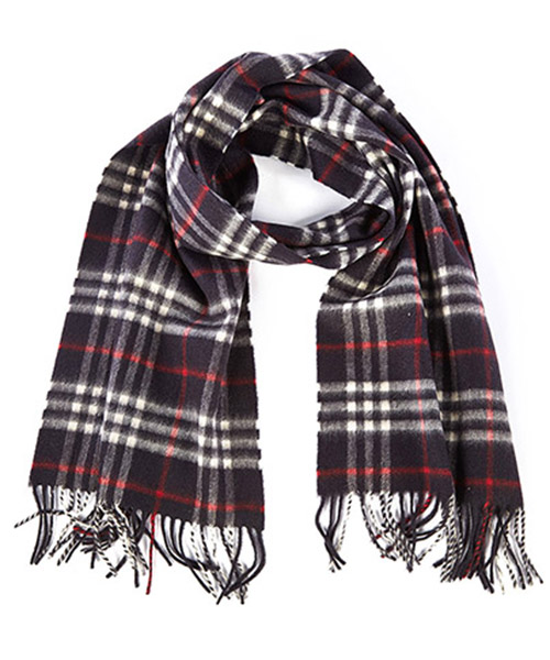 Cashmere scarf Burberry Icon Check 3831763 blu