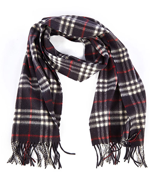 Men's cashmere scarf icon check secondary image