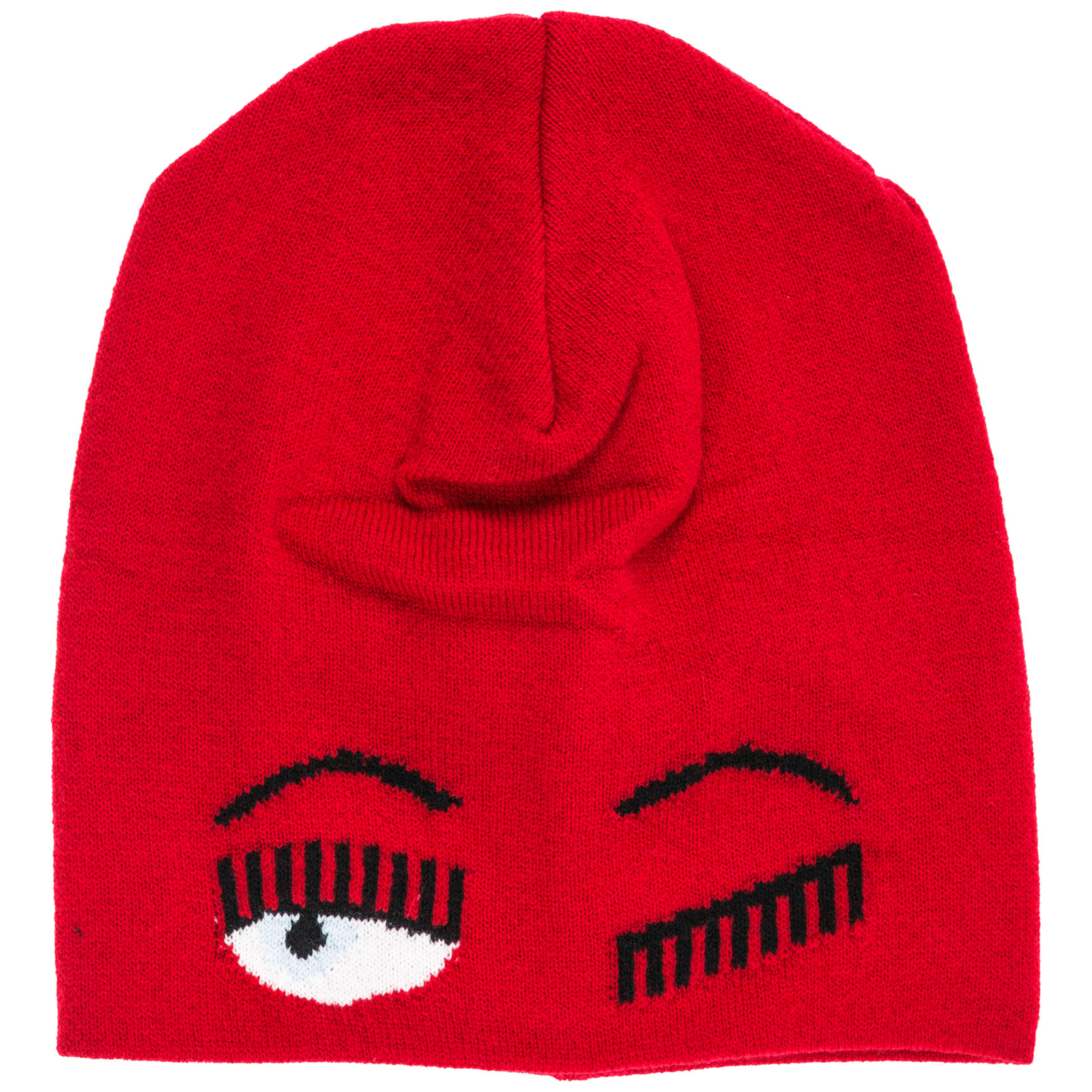 Women's wool beanie hat  flirting