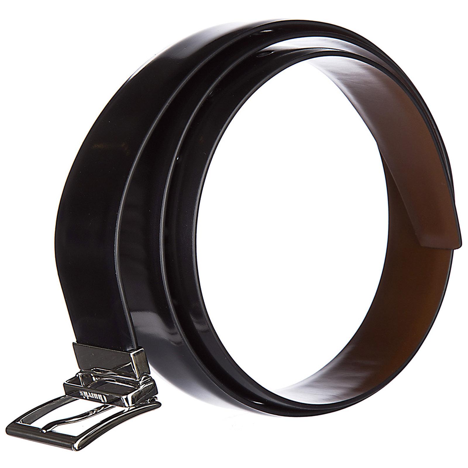 Cinturón en piel de hombre ajustable reversible polishbinder