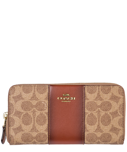 Billetera Coach 31546 tan rust