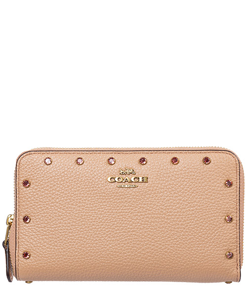 Wallet Coach 38868 b4 / nude pink
