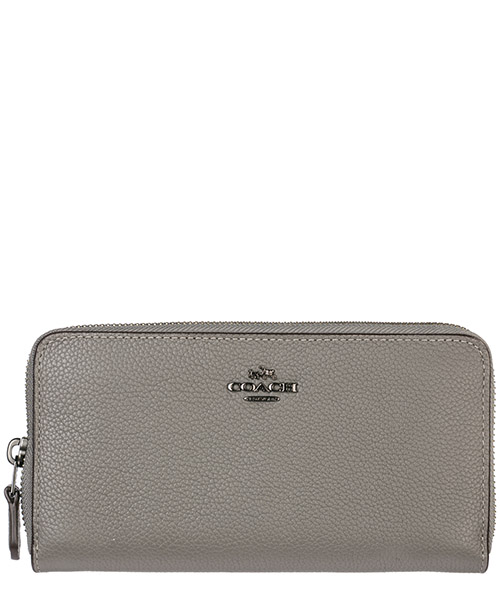 Billetera Coach 58059 heather grey