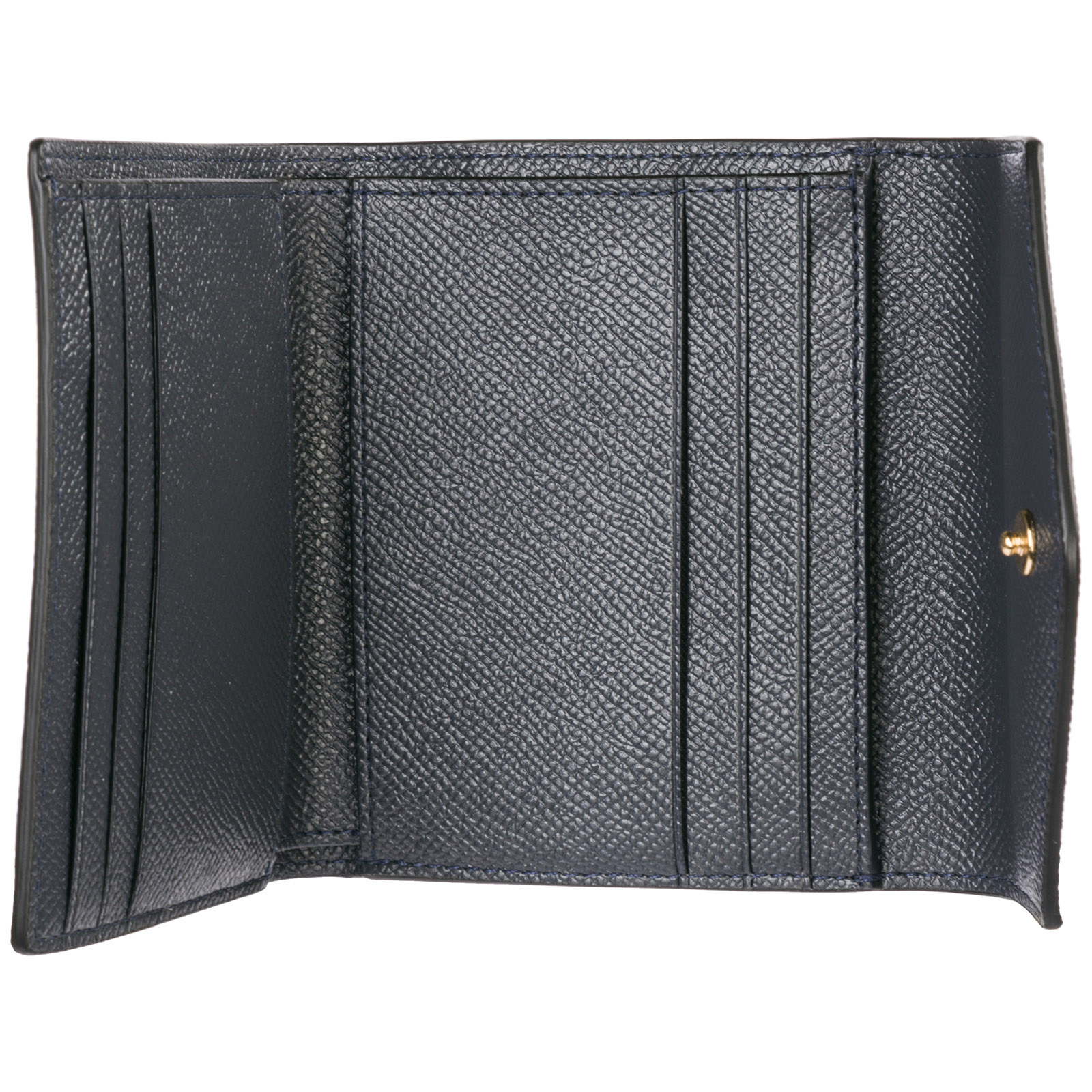 Monedero cartera de mujer en piel trifold