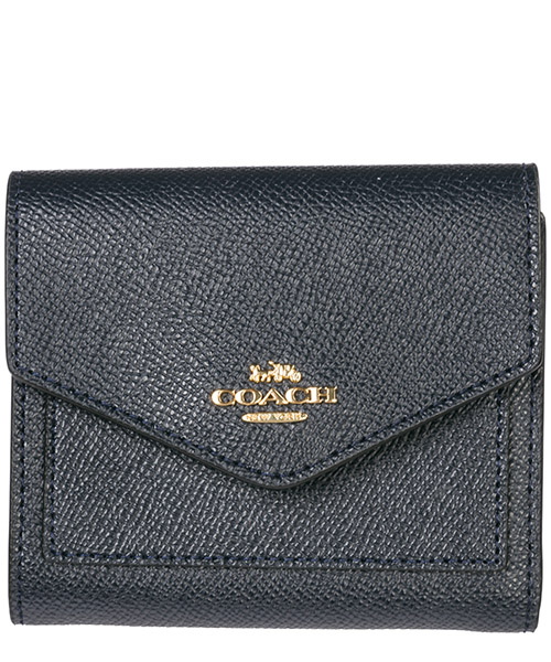 Billetera Coach 58298 blu