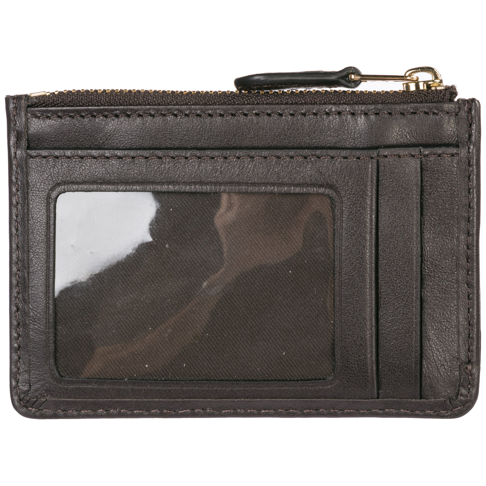 6a32366f14e3 Women's genuine leather credit card case holder wallet
