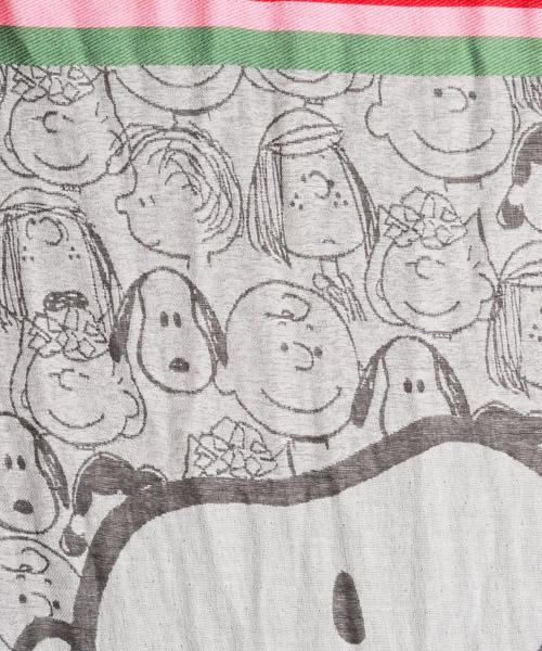 Sciarpa donna jacquard peanuts snoopy secondary image