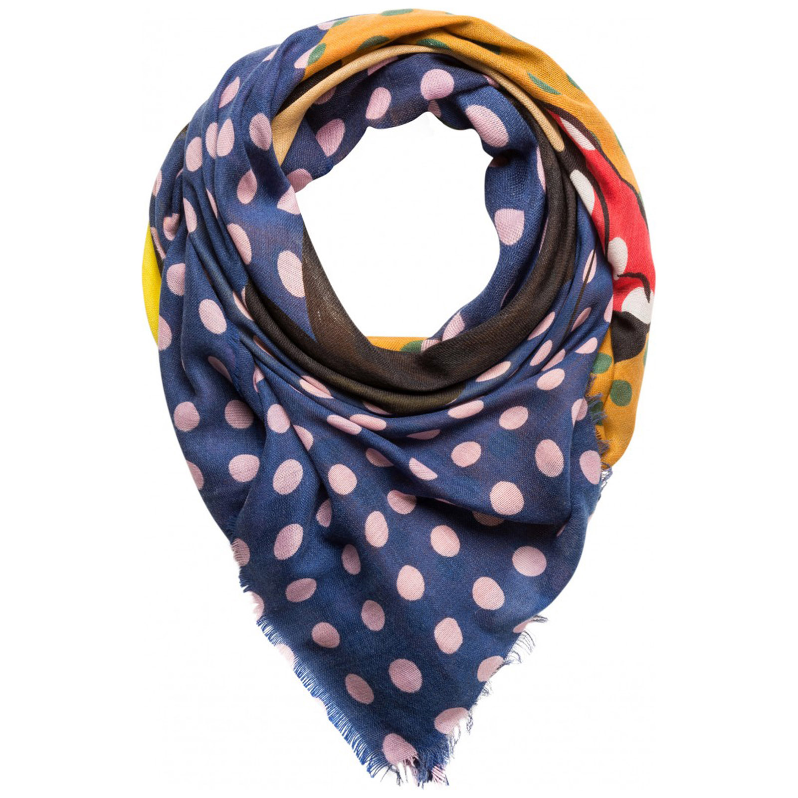 Women's scarf disney minnie and mickey mouse