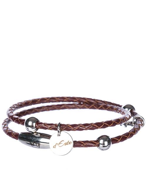Armband d Este CU003 marrone