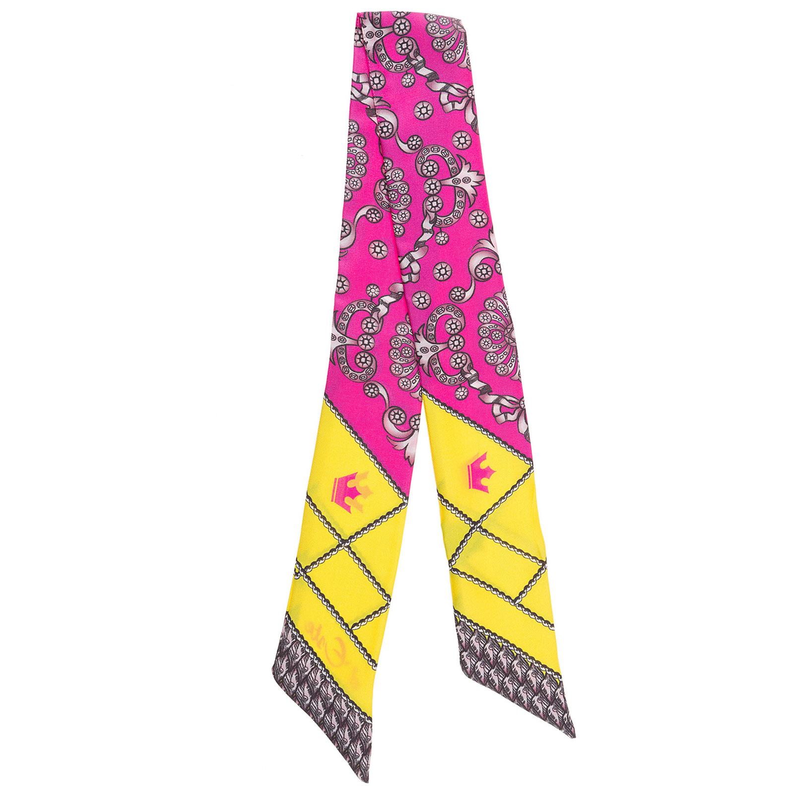 Women's silk foulard scarf twill