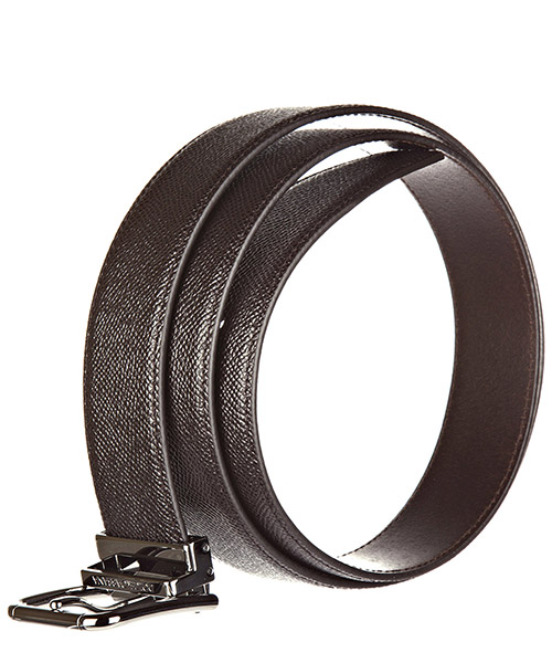 Men's genuine leather belt  dauphine secondary image
