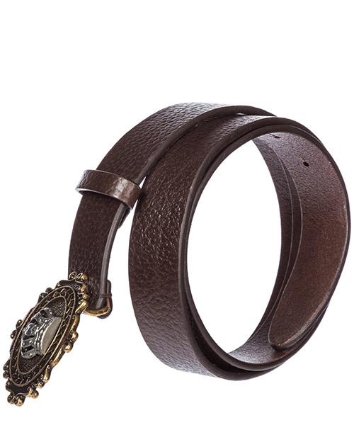 Cinturón de hombre en piel  corona secondary image