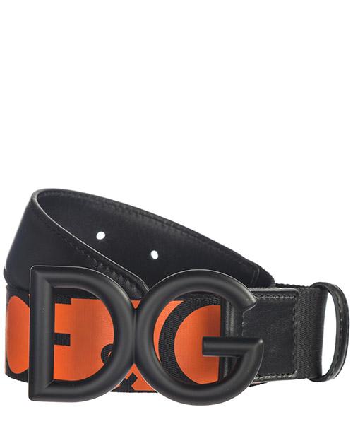 Belt Dolce&Gabbana BC4266 AZ948 80244 nero / arancio