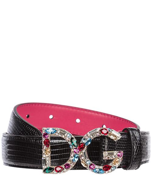 Cinturón Dolce&Gabbana Logo BE1272AI7728B974 nero