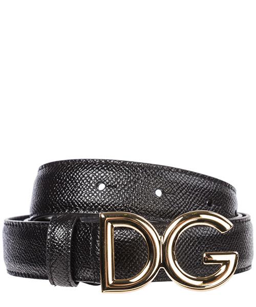 Cinturón Dolce&Gabbana Logo BE1297A100180999 nero