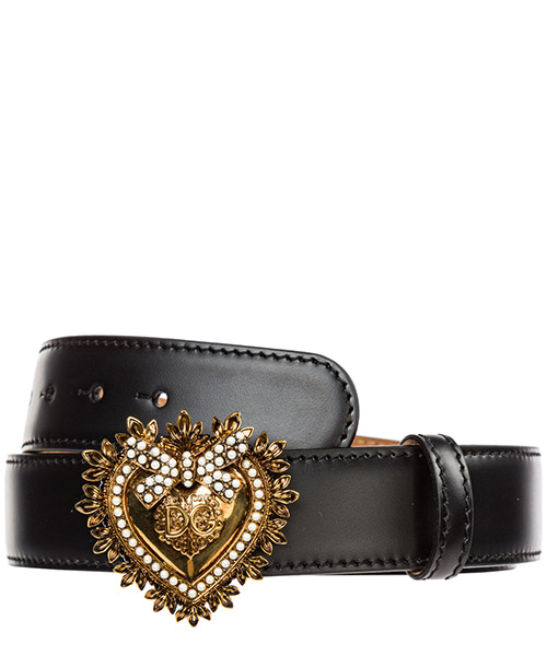 Belt Dolce&Gabbana Cuore devotion BE1315AK86180999 nero