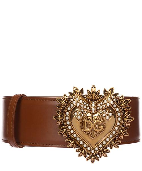 Ceinture Dolce&Gabbana devotion BE1316AK8618H190 marrone