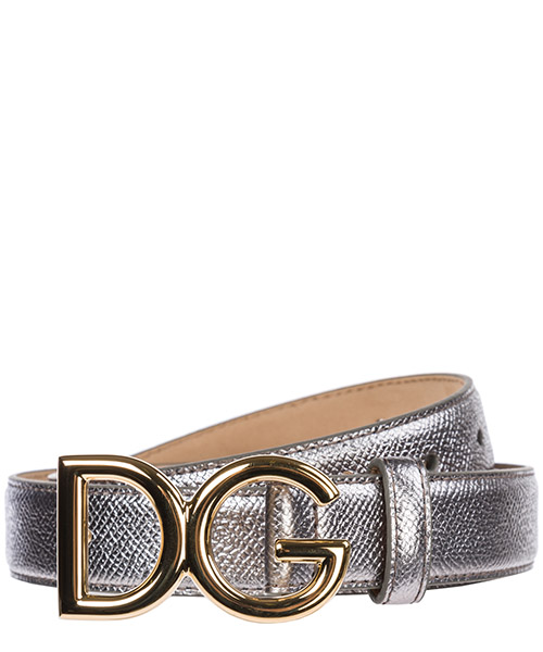 Women's genuine leather belt  logo