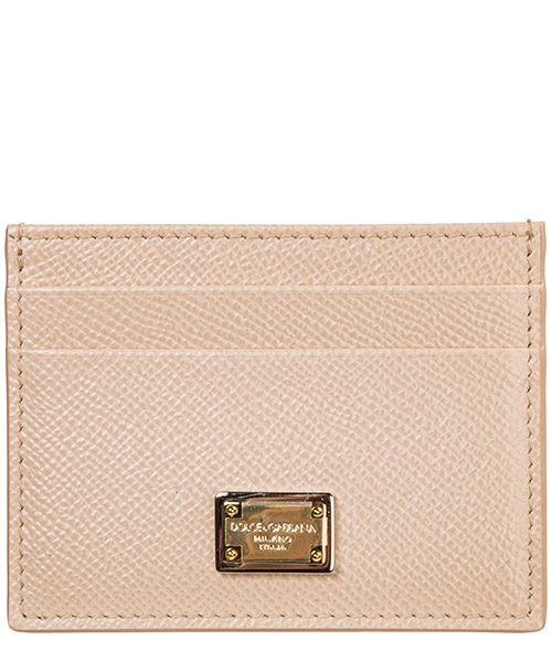 Credit card holder Dolce&Gabbana BI0330A100180414 rosa carne