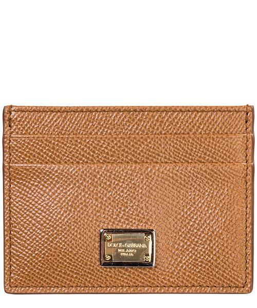 Credit card holder Dolce&Gabbana BI0330A10018M417 caramello
