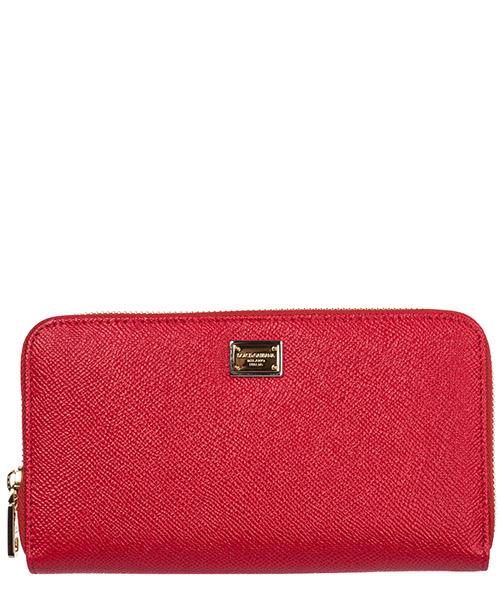 Portafoglio Dolce&Gabbana BI0473A100180303 rosso