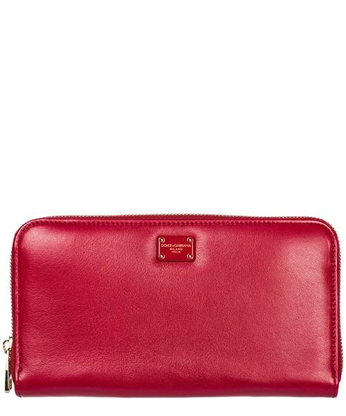 Portafoglio Dolce&Gabbana BI0473AB10718R318 ciliegia / rosso