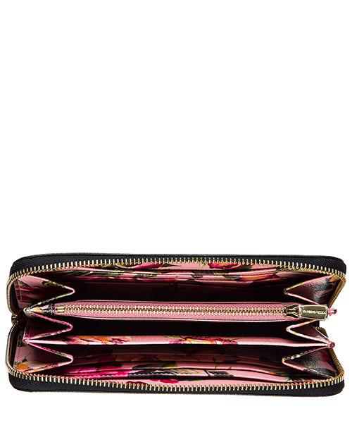 Portefeuille porte-monnaie femme en cuir bifold secondary image