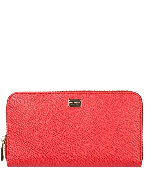 Portafoglio Dolce&Gabbana bi0473b343280301 rosso corallo