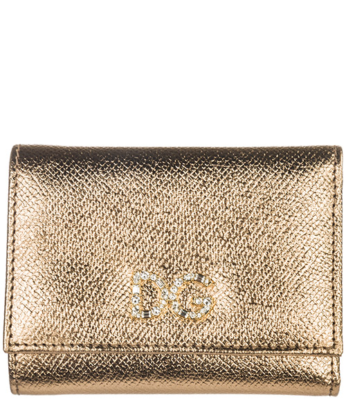 Portafoglio Dolce&Gabbana BI0770AC18487498 oro