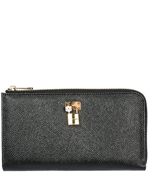 Wallet Dolce&Gabbana BI0922AB4728C903 nero - rosa chiaro