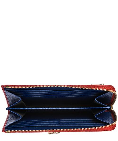 Cartera billetera de mujer en piel secondary image