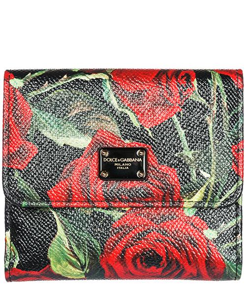Portafoglio Dolce&Gabbana BI1027AV101HNI1S rose rosse