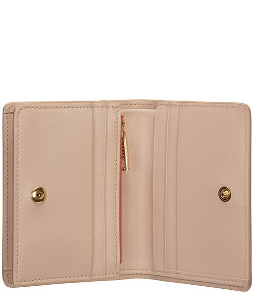 Women's wallet leather coin case holder purse card bifold dg millennials secondary image