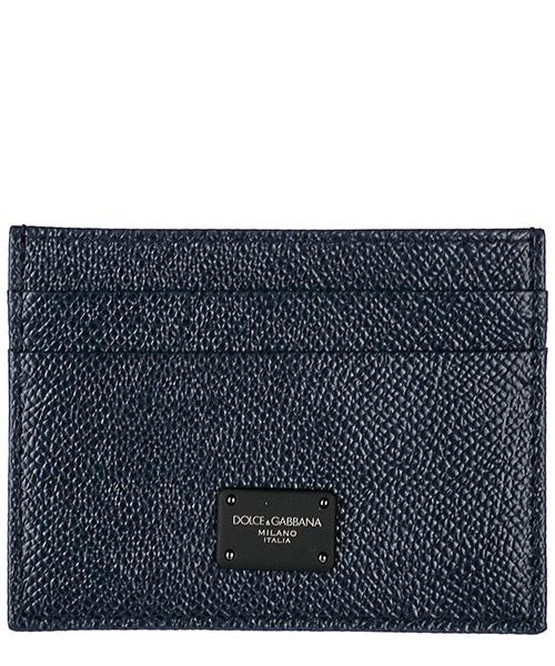 Porta carte di credito Dolce&Gabbana BP0330AI3598H610 blu