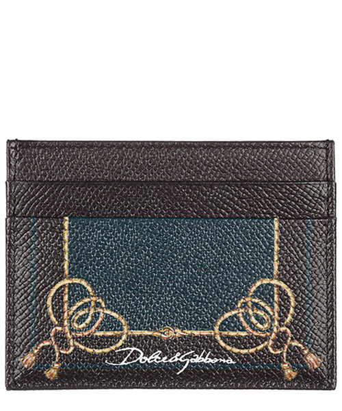 Credit card holder Dolce&Gabbana BP0330AI475HVCON cavaliere nero / verdone