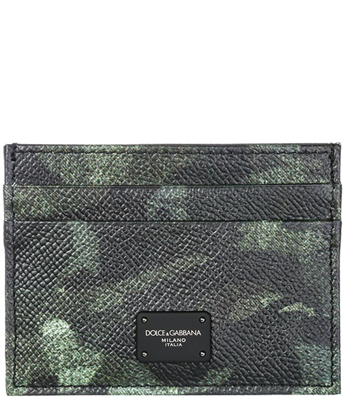 Credit card holder Dolce&Gabbana BP0330AV691HH046 camouflage verde